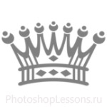 Кисти: короны для Фотошопа - кисть 107