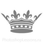 Кисти: короны для Фотошопа - кисть 108