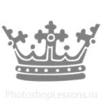 Кисти: короны для Фотошопа - кисть 109