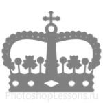 Кисти: короны для Фотошопа - кисть 110