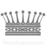 Кисти: короны для Фотошопа - кисть 111