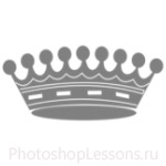 Кисти: короны для Фотошопа - кисть 112