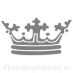Кисти: короны для Фотошопа - кисть 114