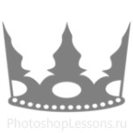 Кисти: короны для Фотошопа - кисть 115