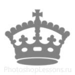 Кисти: короны для Фотошопа - кисть 116