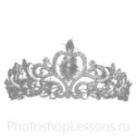 Кисти: короны для Фотошопа - кисть 12