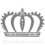 Кисти: короны для Фотошопа - кисть 41