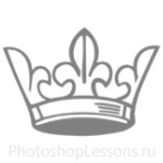 Кисти: короны для Фотошопа - кисть 42