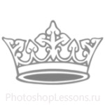 Кисти: короны для Фотошопа - кисть 43