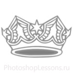 Кисти: короны для Фотошопа - кисть 44
