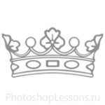 Кисти: короны для Фотошопа - кисть 45