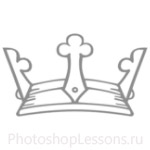 Кисти: короны для Фотошопа - кисть 46
