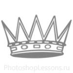Кисти: короны для Фотошопа - кисть 47