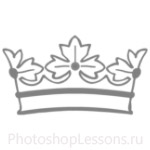 Кисти: короны для Фотошопа - кисть 48