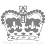 Кисти: короны для Фотошопа - кисть 53