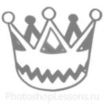 Кисти: короны для Фотошопа - кисть 55