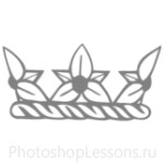 Кисти: короны для Фотошопа - кисть 56