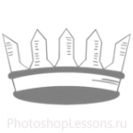 Кисти: короны для Фотошопа - кисть 57