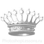 Кисти: короны для Фотошопа - кисть 61