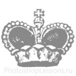 Кисти: короны для Фотошопа - кисть 63