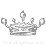 Кисти: короны для Фотошопа - кисть 64
