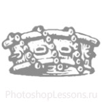Кисти: короны для Фотошопа - кисть 66