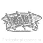 Кисти: короны для Фотошопа - кисть 68