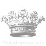 Кисти: короны для Фотошопа - кисть 70