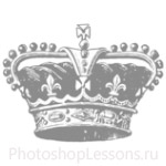 Кисти: короны для Фотошопа - кисть 71
