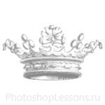 Кисти: короны для Фотошопа - кисть 74