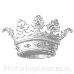 Кисти: короны для Фотошопа - кисть 75