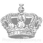 Кисти: короны для Фотошопа - кисть 77