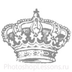 Кисти: короны для Фотошопа - кисть 78