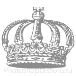 Кисти: короны для Фотошопа - кисть 79