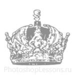 Кисти: короны для Фотошопа - кисть 83
