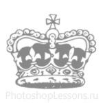 Кисти: короны для Фотошопа - кисть 84