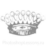 Кисти: короны для Фотошопа - кисть 85