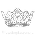 Кисти: короны для Фотошопа - кисть 86