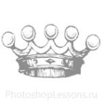 Кисти: короны для Фотошопа - кисть 87