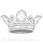 Кисти: короны для Фотошопа - кисть 88