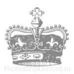 Кисти: короны для Фотошопа - кисть 89