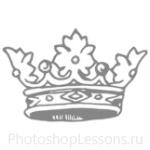 Кисти: короны для Фотошопа - кисть 90