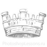 Кисти: короны для Фотошопа - кисть 91