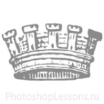 Кисти: короны для Фотошопа - кисть 93