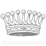 Кисти: короны для Фотошопа - кисть 94