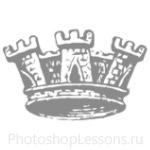Кисти: короны для Фотошопа - кисть 95