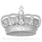 Кисти: короны для Фотошопа - кисть 96