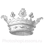 Кисти: короны для Фотошопа - кисть 98