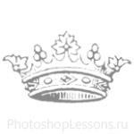 Кисти: короны для Фотошопа - кисть 99