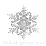 Кисти: снежинки для Фотошопа - кисть 38